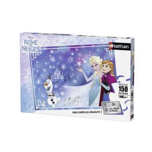 Nathan puzzles - 86807 - Puzzle 150 pièces - Deux soeurs / Reine des Neiges (306394)