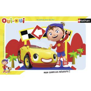 Nathan puzzles - 86016 - Puzzle cadres 15 pièces - En voiture avec Oui-Oui (306410)