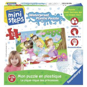 Ravensburger - 04722 - Mon puzzle en plastique : Le pique-nique des princesses (306444)