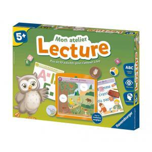 Ravensburger - 24074 - Jeux éducatifs Mon atelier Lecture - 5 ans + (306478)