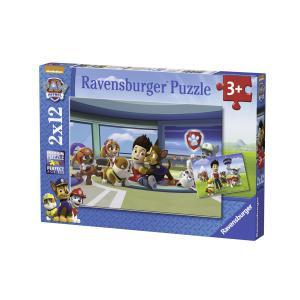 Ravensburger - 07598 - Puzzle 2x12 pièces - Ryder et ses amis / Pat'Patrouille (306538)