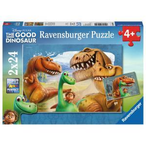 Ravensburger - 09079 - Puzzle 2 x 24 pièces - Amitié extraordinaire / Le voyage d'Arlo (306556)