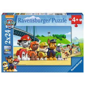 Ravensburger - 09064 - Puzzle 2x24 pièces - Chiens héroïques / Pat'Patrouille (306560)