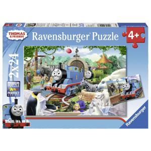 Ravensburger - 09043 - Puzzle 2x24 pièces - Thomas et ses amis / Thomas and friends (306566)