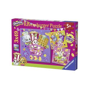 Ravensburger - 09222 - Puzzle 3 x 49 pièces - Shopkins & compagnie / Shopkins (306576)