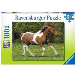 Ravensburger - 10848 - Puzzle 100 pièces XXL - Au galop (306604)