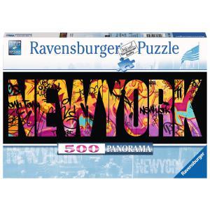 Ravensburger - 14650 - Puzzle 500 pièces - New-York Graffiti (Panorama) (306658)