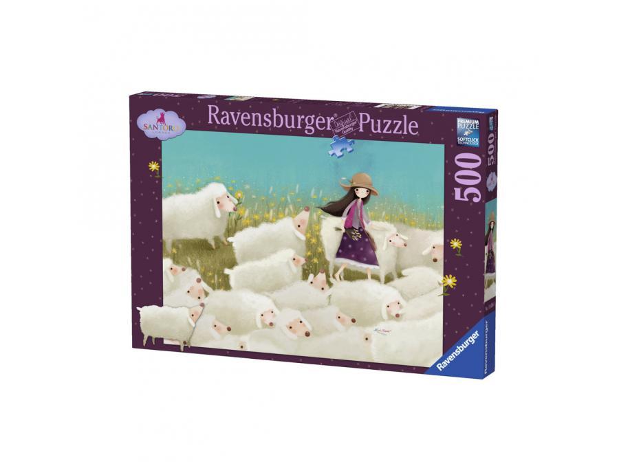 Ravensburger puzzle 500 pi ces buttercup meadow kori for Chambre complete adulte payer en plusieurs fois