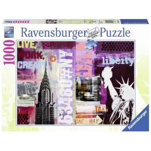Ravensburger - 19613 - Puzzle 1000 pièces - New-York City Collage (306666)