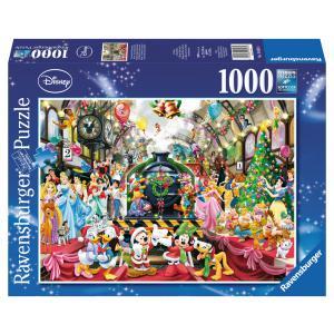 Disney - 19553 - Puzzle 1000 pièces - Tous à bord pour Noël / Disney (306676)