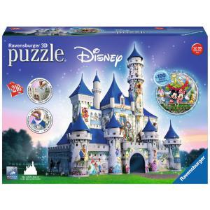 Disney - 12587 - 3D puzzle Building 216 pièces - Château de Disney (306734)