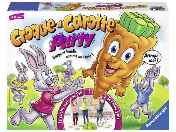 Jeux de société enfants - croque carotte party - jeux d'action