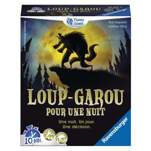Ravensburger - 26681 - Jeux de société famille - Loup Garou pour une nuit  - Jeux d'ambiance (306878)
