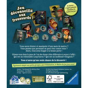 Ravensburger - 26681 - Jeux de société famille - Jeux d'ambiance -Loup Garou pour une Nuit (306878)