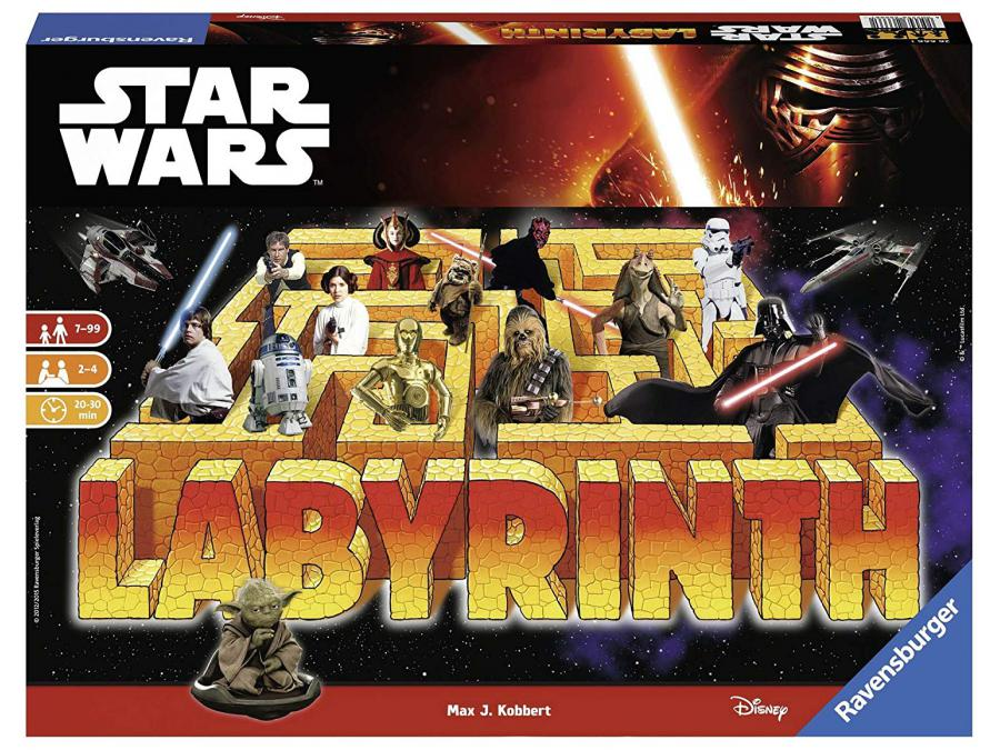 ravensburger jeux de soci t famille labyrinthe star wars vii jeux de r flexion. Black Bedroom Furniture Sets. Home Design Ideas