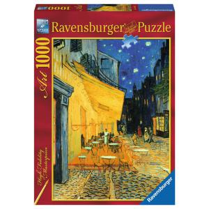 Ravensburger - 15373 - Puzzle 1000 pièces - Art collection - Terrasse de café, le soir / Vincent Van Gogh (306948)