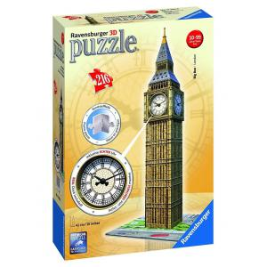 Ravensburger - 12586 - 3D puzzle Building 216 pièces - Big Ben Clock (306976)