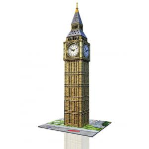 Ravensburger - 12586 - Puzzle 3D Building - Collection midi spéciale - Big Ben Clock (306976)