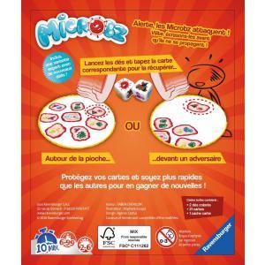 Ravensburger - 26682 - Jeux de société famille - Jeux d'ambiance -Microbz (306996)