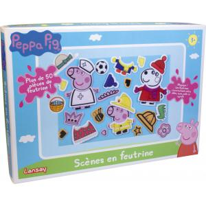 Lansay - 20024 - PEPPA PIG SCÈNES EN FEUTRINE (307116)
