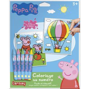 Lansay - 20010 - PEPPA PIG COLORIAGE AU NUMÉRO (307120)