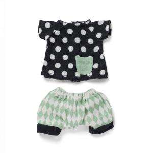 Littlephant - 1302 - Vêtements de Poupée  - Harlequin pants with doted shirt (307670)