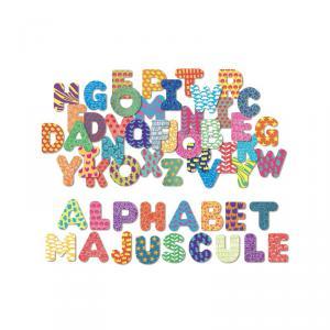 Vilac - 6702 - Magnets Alphabet majuscule 56 pcs - à partir de 3+ (307924)