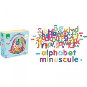 Vilac - 6703 - Magnets Alphabet minuscule 81 pcs (307926)