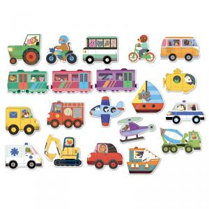 Vilac - 8028 - Magnets Les transports (307948)