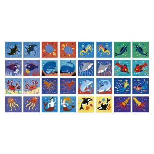 Londji - DI006U - Ocean animals memo (308232)