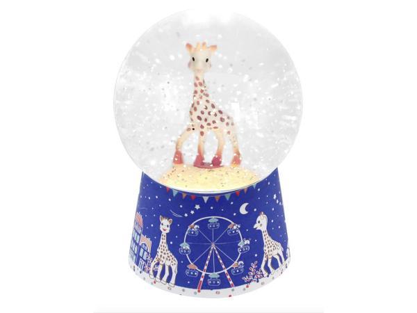 trousselier boule neige musicale sophie la girafe paris. Black Bedroom Furniture Sets. Home Design Ideas