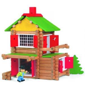 Jeujura - 8003 - Mon chalet en bois - 135 pièces (3151)