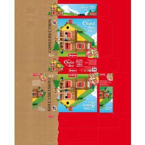 Jeujura - 8004 - Mon chalet en bois - 175 pièces (3152)