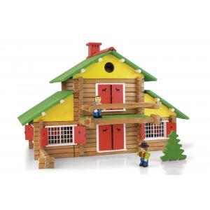 Jeujura - 8005 - Mon chalet en bois - 240 pièces (3153)