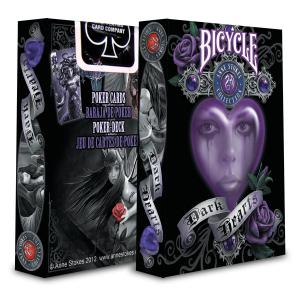 Bicycle - 1025946 - Jeu de cartes Bicycle anne stokes dark hearts (310350)