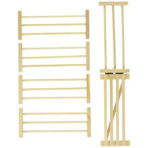 Kids Globe Farmer - 610102 - Clôtures en bois 6 pces (310408)
