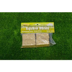 Kids Globe Farmer - 610704 - Set de 4 bottes de foin rectangulaires échelle 1:32 (310472)