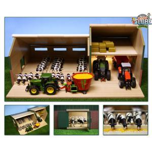 Kids Globe Farmer - 610409 - Étable avec atelier 55 x 72 x 32 cm (310510)