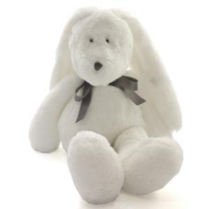 Dimpel - 860418 - Neela doudou lapin 25 cm - blanc (310552)