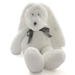 Dimpel - 860431 - Neela doudou lapin 32 cm - blanc (310554)