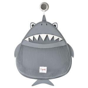 3 Sprouts - 107-008-005 - Rangement filet pour le bain Requin (311192)
