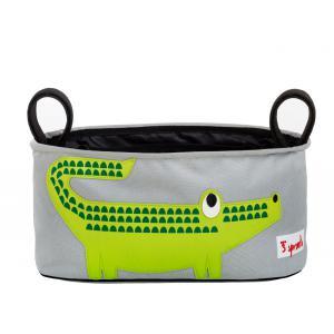 3 Sprouts - 107-006-001 - Sac poussette Crocodile (311228)