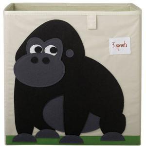 3 Sprouts - 107-002-003 - Cube de rangement Gorille (311286)