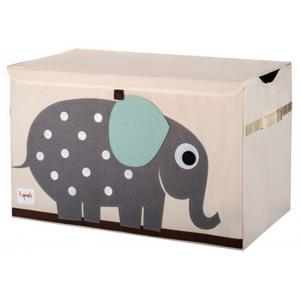 3 Sprouts - 107-001-005 - Coffres à jouets Eléphant (311292)