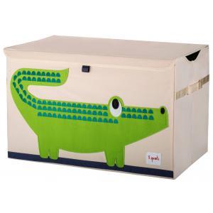 3 Sprouts - 107-001-004 - Coffres à jouets Crocodile (311300)