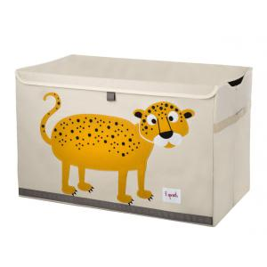3 Sprouts - 107-001-001 - Coffres à jouets Léopard (311304)