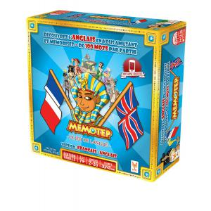 Topi Games - MEM-AN-179001 - Memotep fr-anglais  - Format Grand (26,5 x 26,5 x 7,5) (311332)