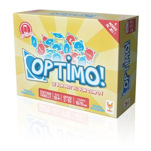 Topi Games - OPT-229001 - Optimo: jeu de mots (311344)