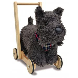 Little Bird Told Me - LB3053 - Scottie Dog Push Along - (312610)