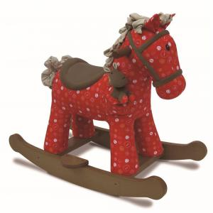 Little Bird Told Me - LB3030 - Doodle & Crumb Rocking Horse (312616)